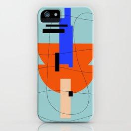 HILO GEOMETRICO 2/2 iPhone Case