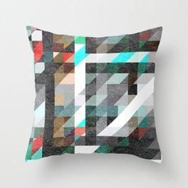 Digitally Textured Throw Pillow