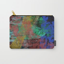 Black abstract designe Carry-All Pouch