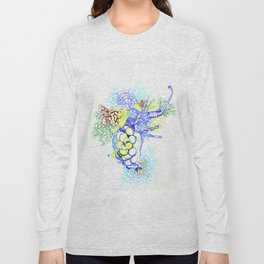 From Simplicity 2 Complexity series - Neural Network Long Sleeve T-shirt