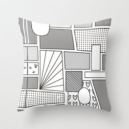 Comix Throw Pillow
