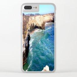 Bonny Doon Beach Clear iPhone Case