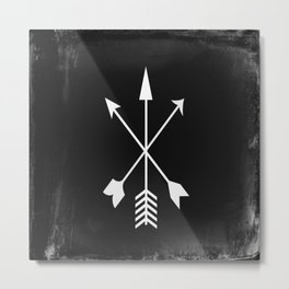 Arrow Design Metal Print