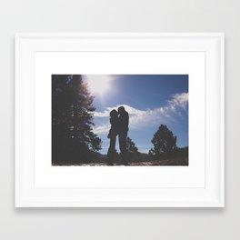 Socal Winter Framed Art Print