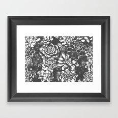 Garden of Stone Framed Art Print