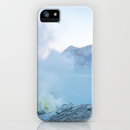 Kawah Ijen, Indonesia iPhone Case