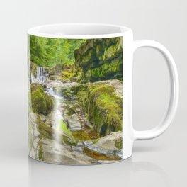 Four falls walk waterfall 3 Coffee Mug