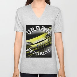 supercar By HS Design Unisex V-Neck