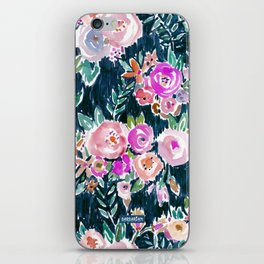 Midnight PROFUSION FLORAL iPhone Skin