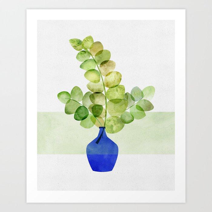 Fresh Eucalyptus Art Print