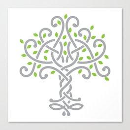 Knot tree Canvas Print
