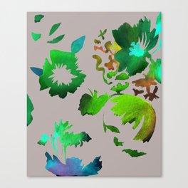 Dark Flora Canvas Print