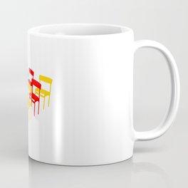 25 Chairs Coffee Mug