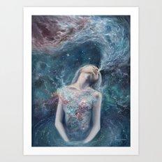 Love Will Split You Open Into Light Art Print