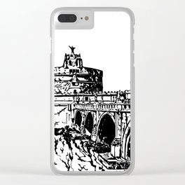 Castel Sant'Angelo, Rome Clear iPhone Case
