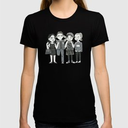 Riverdale - Archie, Veronica, Betty, Jughead T-shirt