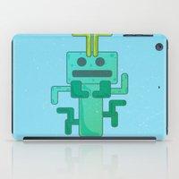 bug iPad Cases featuring BUG by Annretro