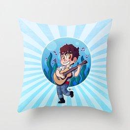 Darren Criss - New Prince Eric Throw Pillow