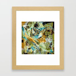 Nighttime Infusion Framed Art Print