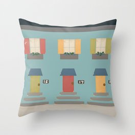 The Neighborhood Throw Pillow