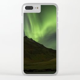 Aurora Borealis! Clear iPhone Case