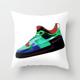 Air Force Ones (3 of 4) Throw Pillow