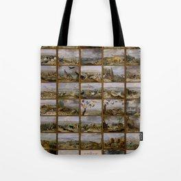 "Jan van Kessel de Oude ""The four parts of the world"" Tote Bag"