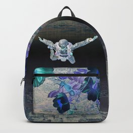 A Skydiver Between Two Parallel Universes Backpack