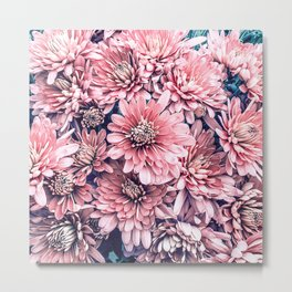 Flower | Photography | Pink Blossoms | Spring | Pattern Metal Print