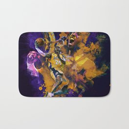 Lakers Legend Bath Mat