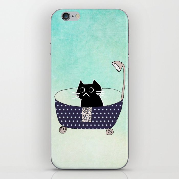 cat 436 iPhone Skin