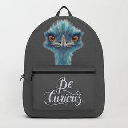 Teal Emu Backpack