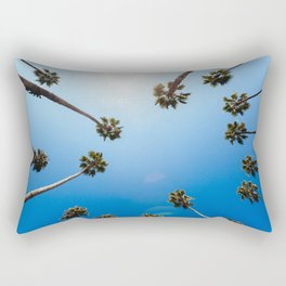 Palm Trees in Los Angeles Rectangular Pillow