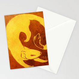 Mongoose Cutout Stationery Cards