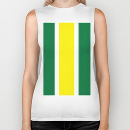 TEAM COLORS 10 ...YELLOW,GREEN Biker Tank