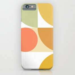 The colours of Summer #geometric #pattern iPhone Case