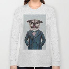 dog portrait Long Sleeve T-shirt