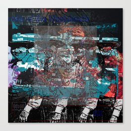 Rude Boy Gravitas Canvas Print