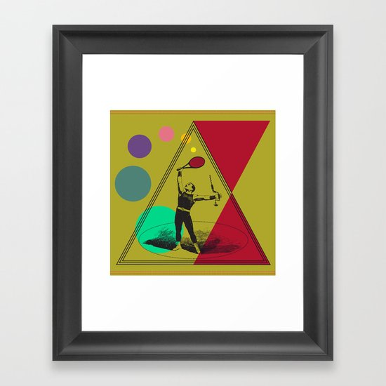 my uncle : what a complete man... Framed Art Print