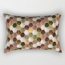 Polygonal 2 Rectangular Pillow