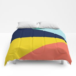 Colorful pattern XII Comforters