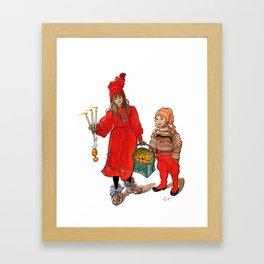A Swedish Tale Framed Art Print