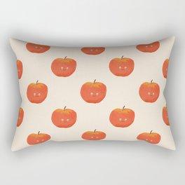 Kawaii Apple Rectangular Pillow