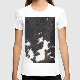 Cowhide Texture T-shirt