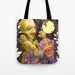 Alien & Ape (True Love) Tote Bag