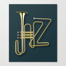Virtuous Jazz Canvas Print