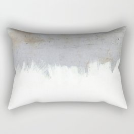 Painting on Raw Concrete Rectangular Pillow