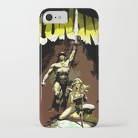 "conan iPhone & iPod Cases featuring Conan ""The Barbarian"" * Conan, el bárbaro * Vintage Movie Inspiration by Freak Shop 
