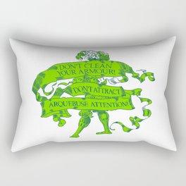 Wise Landsknecht #1 Rectangular Pillow