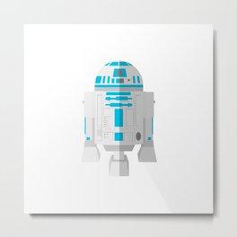 R2 D2 Metal Print